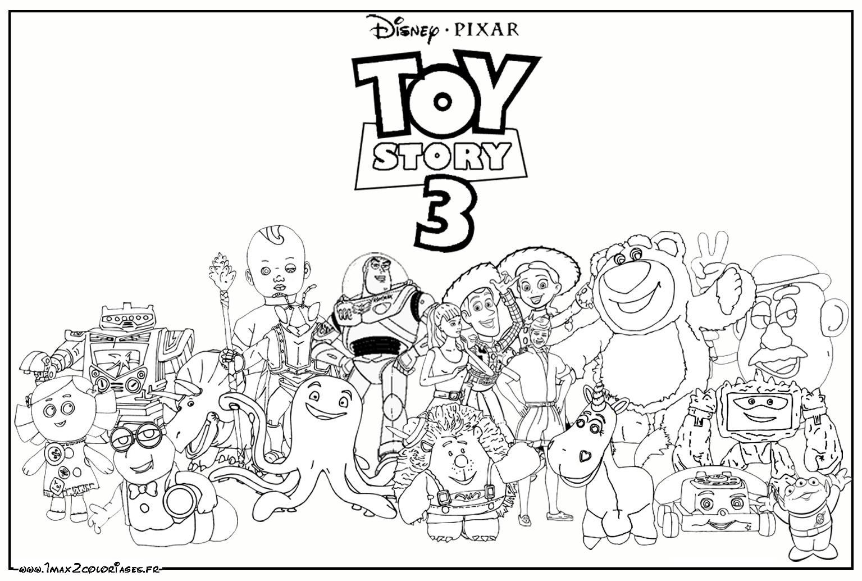 Toy story 9 coloriage toy story coloriages pour enfants - Dessin de personnage disney ...