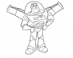 Coloriage toy story 13