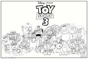 Coloriage toy story 9