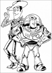 Coloriage Toy Story free to print