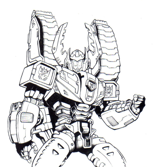 Coloriages transformers robots 8 coloriage des - Coloriage de robots ...