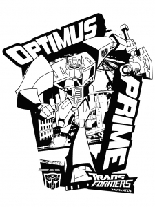 Coloriages transformers robots 2