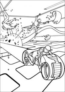 Image de Tron à imprimer et colorier