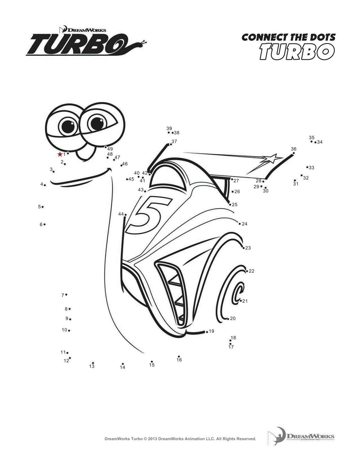 Turbo escargot 8 coloriage turbo l 39 escargot - Coloriage escargot turbo ...