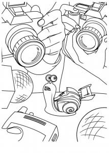 Coloriage turbo escargot 2