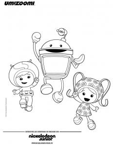 Coloriage de Umizoomi pour enfants