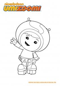 Image de Umizoomi à imprimer et colorier