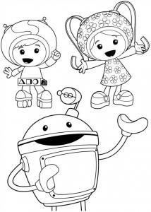 Coloriage de Umizoomi à imprimer pour enfants