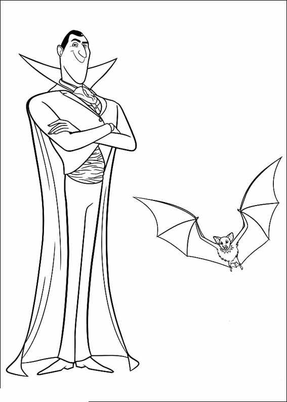 Vampires 3 coloriages de vampires twilight dracula - Dessin vampire a colorier ...