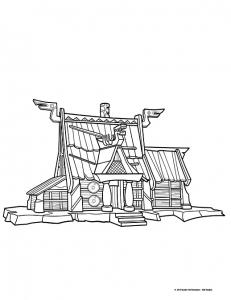 Image de Vic le viking à télécharger et colorier
