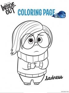 coloriage-vice-versa-tristesse free to print