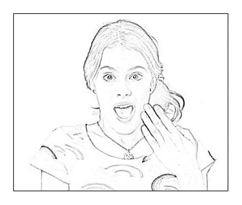 Violetta 2 t l vision archives coloriages pour enfants - Violetta en coloriage ...