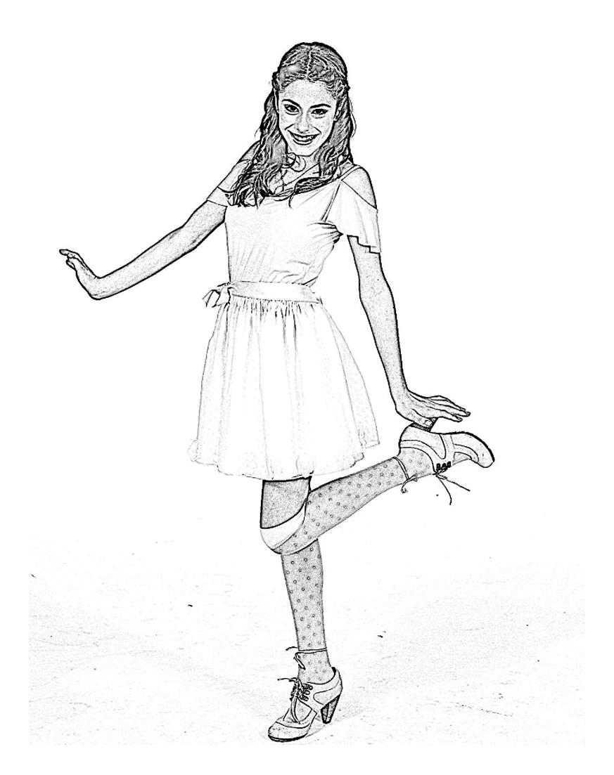 Violetta Danse Coloriage Violetta Coloriages Pour Enfants