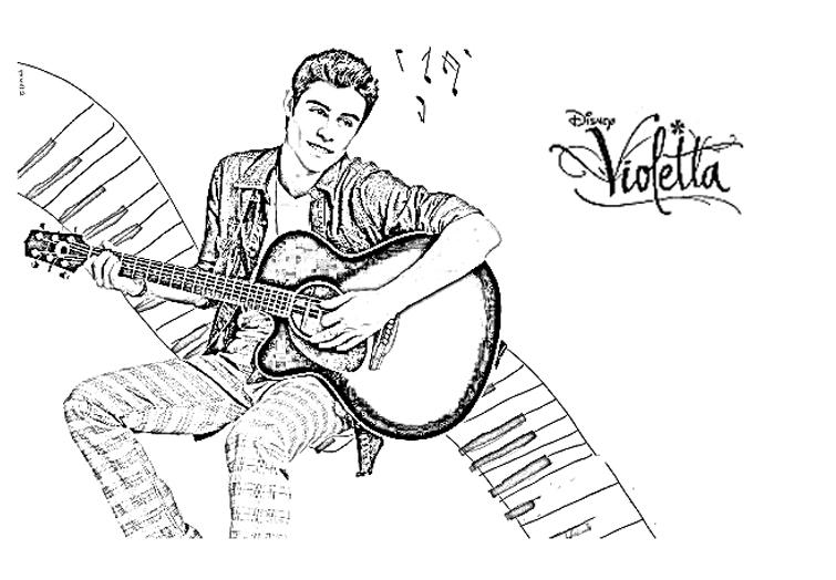 image=violetta coloriage violetta thomas guitare 1