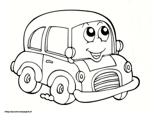 coloriage-voiture-4 free to print