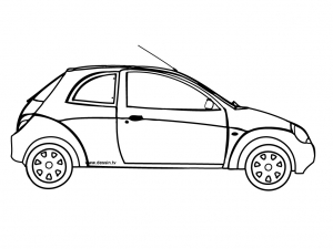 coloriage-voiture-6 free to print