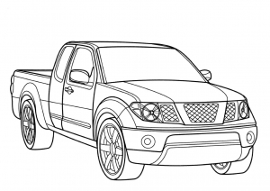 coloriage-voiture-8 free to print