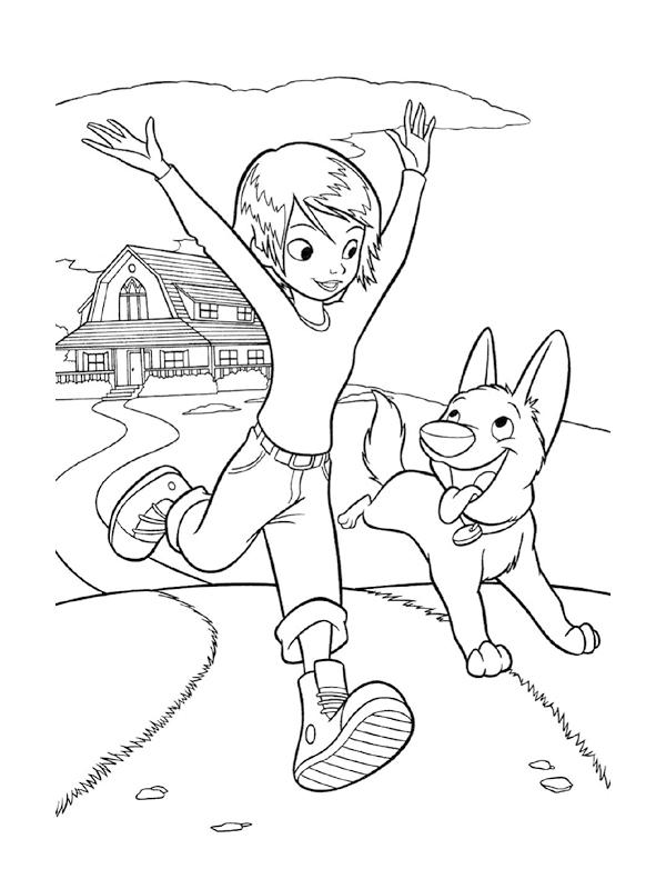 Image de Volt à colorier, facile pour enfants
