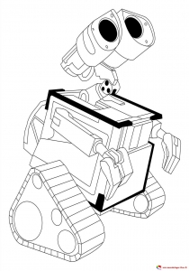 coloriage-wall-e-1 free to print