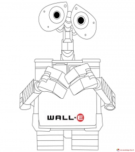 coloriage-wall-e-2 free to print