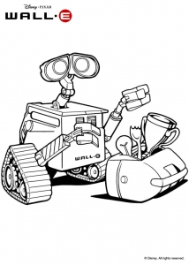 coloriage-wall-e-3 free to print