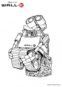coloriage-wall-e-6 free to print