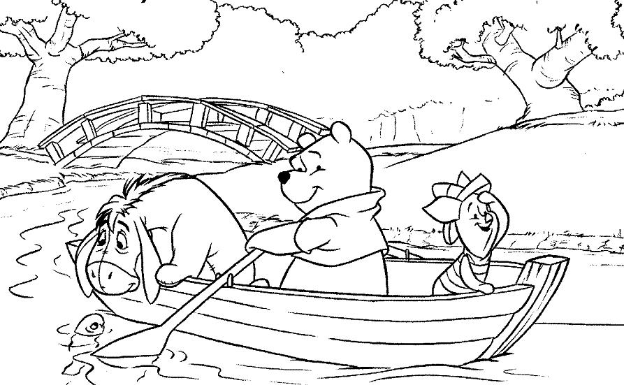 Winnie 7 | Coloriage Winnie l\'ourson et ses amis - Coloriages pour ...