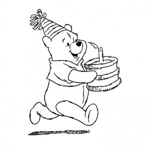 Coloriage winnie l 39 ourson et ses amis coloriages pour - Winnie dessin ...