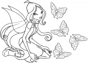 coloriage-winx-3 free to print