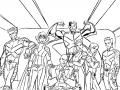 Coloriage de X Men à imprimer gratuitement