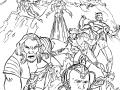 Coloriage de X Men à imprimer