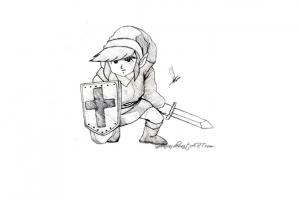 Image de Zelda à télécharger et colorier