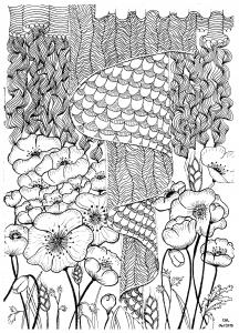 zentangle-a-colorier-par-cathym-5 free to print