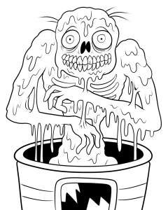 coloriage-zombies-1 free to print
