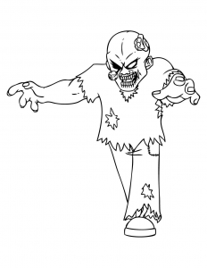 coloriage-zombies-2 free to print