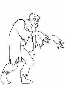 coloriage-zombies-6 free to print
