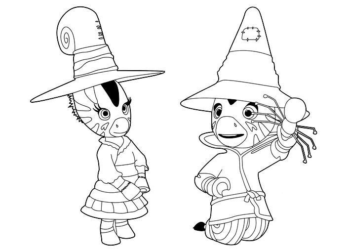 Zebre zou 1 coloriage zou coloriages pour enfants - Coloriage zebre a imprimer ...